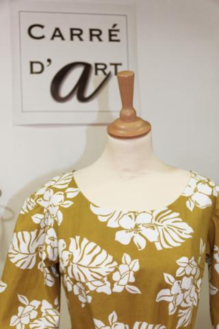 robe-a-manche-jaune-et-fleur-blanche-cree-par-marie-ancelin-artisan-couturier-proche-de-niort