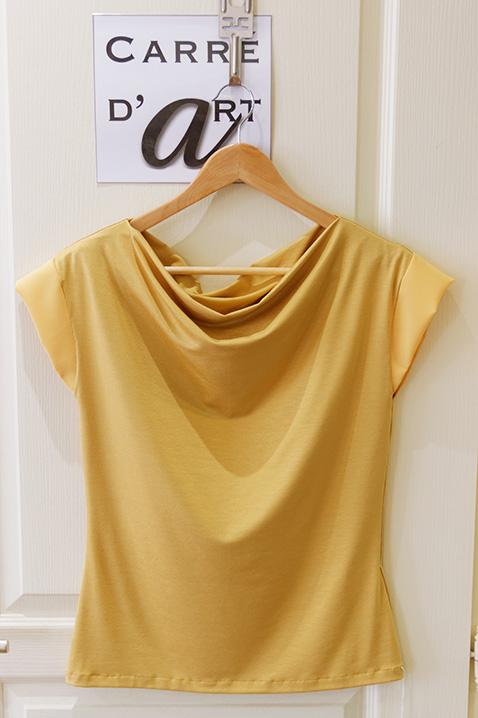 Jersey-de-coton-jaune-cree-par-marie-ancelin-artisan-couturier