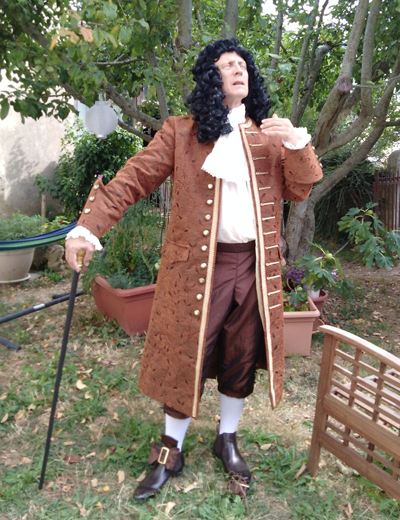 Costume Jean de la Fontaine