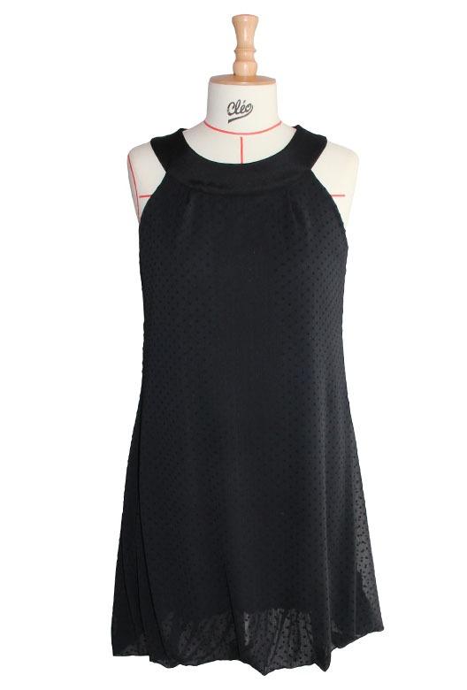 Modèle margot - robe noir sur-mesure